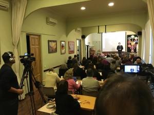Seminario La Cábala de la Intimidad por Rabino Nilton Bonder en Escuelas de Misterios
