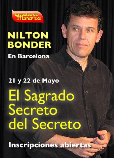 Seminario Nilton Bonder en barcelona - El sagrado secreto del secreto - Cabala Jose Luis Caritg - Escuelas de Misterios