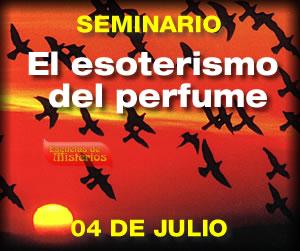 Seminario el esoterismo del perfume
